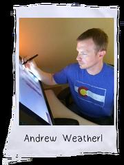 Andy, Art Director, Paper