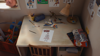Chris' Room - Desk