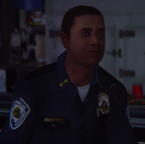 Officer diner face