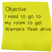 Objective note