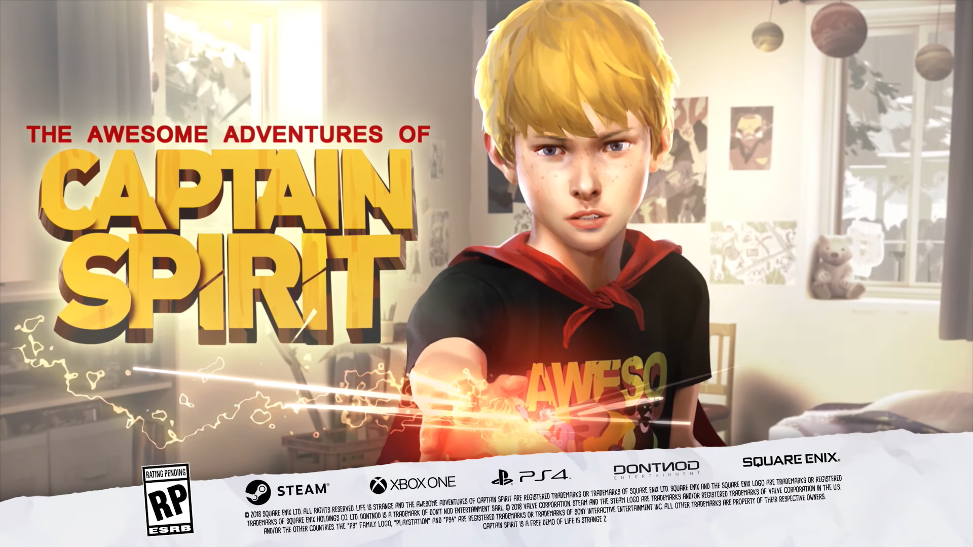 The Awesome Adventures Of Captain Spirit Life Is Strange