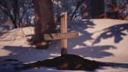 Mushroom grave