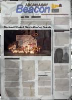 Kate Marsh Newspaper Suicide Dark Room cut