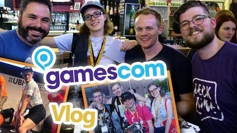 Deck Nine Meet & Greet! Just Dance 2018 Bühne! Gamescom 2017 Vlog