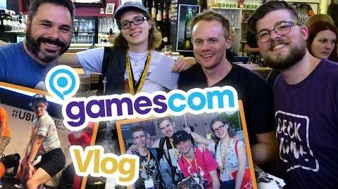 Deck Nine Meet & Greet! Just Dance 2018 Bühne! Gamescom 2017 Vlog