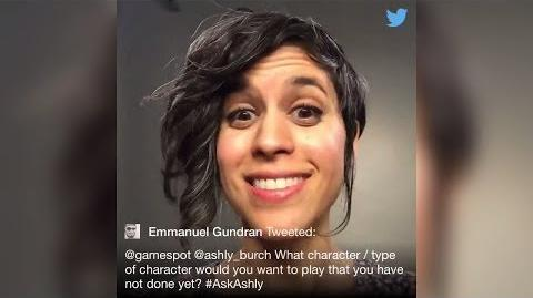 Ashly Burch Answers Fans' Questions On Twitter 12.13.2017