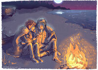 Max and chloe bonfire by maarika