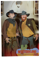 Captain Spirit - Charles and Nick at Westernland Park