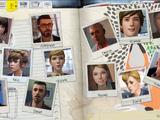 Perfis de Personagens da Max