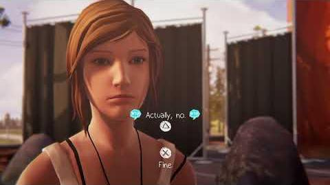 "Life is Strange Before the Storm Awake Backtalk Principal Wells ""Actually, no"