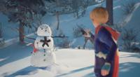 Captain Spirit vs Homem de Neve