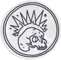 Backtalk-skull