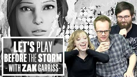 Let's Play Life is Strange Before the Storm with writer Zak Garriss