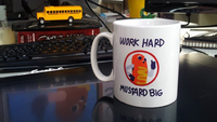 Hawt dawg man mug