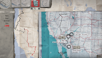 Sean's Travelling Map (end of E5 - Wolves)