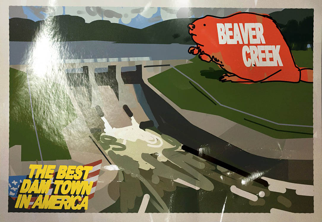 CS Beaver Creek postcard