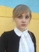 Dayeanne Hutton cosplays as Kate Marsh