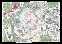 Aventuras de Captain Spirit Mapa solucionado