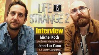 INTERVIEW LIFE IS STRANGE 2 - Gamescom 2019