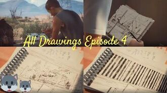 All of Sean's Drawings Life is Strange 2 Ep 4