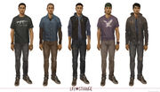 Life is Strange Concept Art Luke Parker by Fred Augis