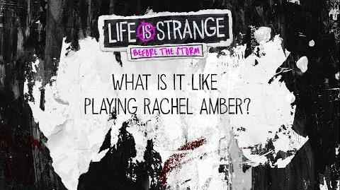 Kylie Brown - What is it like playing Rachel Amber?