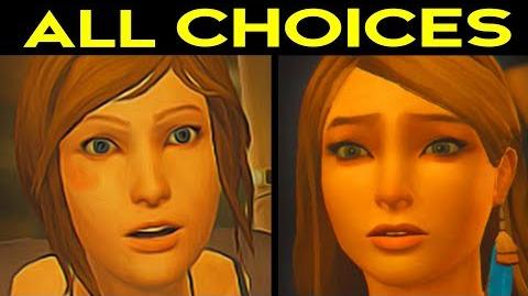 Life Is Strange Before the Storm Episode 2 - ALL CHOICES & OUTCOMES Alternative Choices