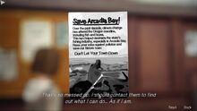 Note SaveArcadiaBay