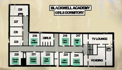 Blackwell Academy Girls Dormitory