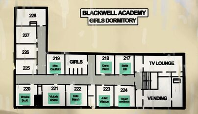 Blackwell Academy Girls Dormitory