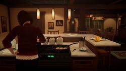 Casa dos Amber EP2 - Rose cozinhando