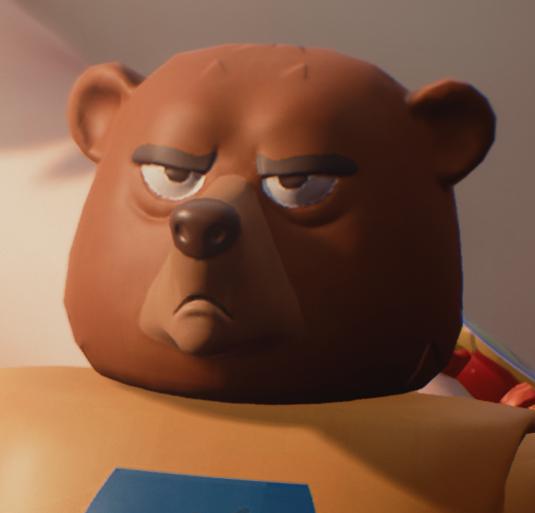 Power Bear face