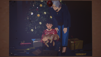 LiS2E5 Ending 03 - Parting Ways 02 - Daniel & Claire Christmas Dog