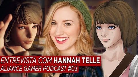 ENTREVISTA com HANNAH TELLE - Voz de MAX em LIFE IS STRANGE