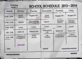 Max-schedule