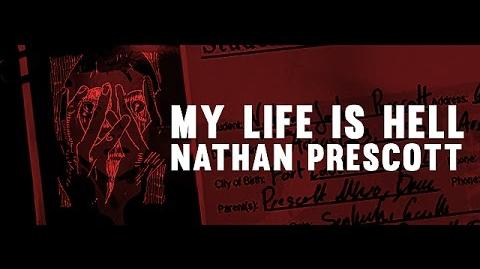'MY LIFE IS HELL' Nathan Prescott Life is Strange