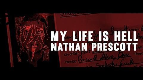 'MY LIFE IS HELL' Nathan Prescott Life is Strange