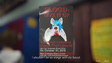 Note BloodDonationPoster