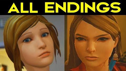 Life Is Strange Before the Storm Episode 2 ALL ENDINGS + SECRET ENDING