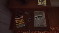 Reynolds Household Bedroom - Stephen's Nighstand