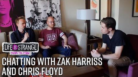 Life Is Strange Before the Storm - Interview w Zak Harriss & Chris Floyd PAX West 2017