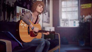 Max plays Guitar