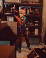 Captain Spirit armadura colorida leve