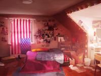 Love is Strange Background Chloe's Room