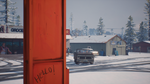 Beaver Creek Christmas Market - Hello! graffiti