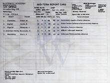 E1 s02 grades