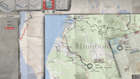 Sean's Traveling Map (end of E3 - Wastelands)
