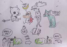 Desenhos da Kate