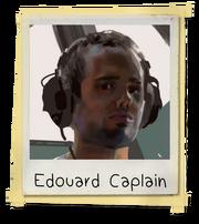 Edouard Caplain Polaroid