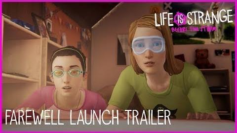 Life is Strange Before the Storm - Trailer de Lançamento do Episódio Farewell Despedida